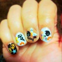 *:.。♬..。.ハロウィン*:.。♬..。. #ささき えみこ #ネイルブック