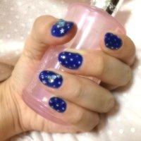 #ブルー #セルフネイル #mako_loves #ネイルブック