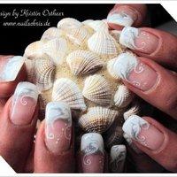 #Nailbook #ホワイト #Kristin Ostheer #ネイルブック