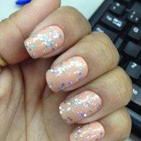 Rosa Candy + Disco Ball - Impala #パステル #Kjuzinha #ネイルブック