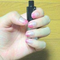 ピンクラメグラデ♪ #グラデーション #ピンク #マニキュア #セルフネイル #rinpkr #ネイルブック