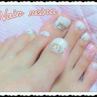 白にちょっとピンク #ホワイト #お客様 #izu_luv #ネイルブック
