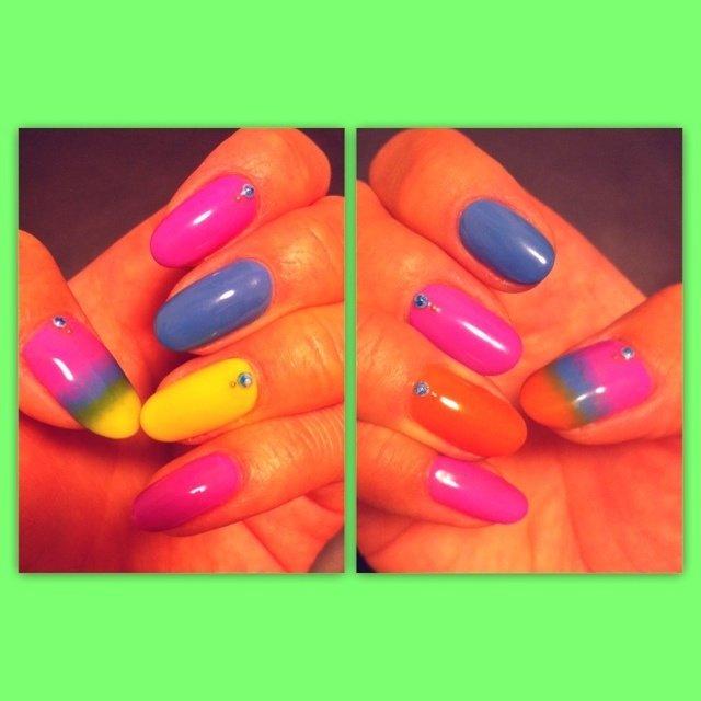 my nail #yoooc_xoxo #ネイルブック