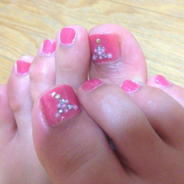 #Nailbook #ピンク #セルフネイル #rinakkuma6123 #ネイルブック