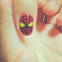 Spiderman nail♡ #セルフネイル #Natsuki Tsunoda #ネイルブック