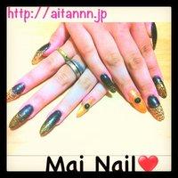 #Nailbook #セルフネイル #Aira Nakamura #ネイルブック