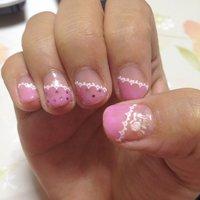 #ピンク #セルフネイル #Chika Mizukoshi #ネイルブック