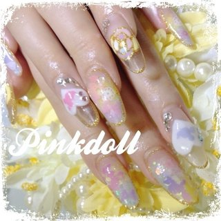 #Nailbook #pinkdoll1115 #ネイルブック