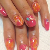 #Nailbook #ピンク #Couture #ネイルブック