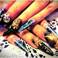 過去nail。 hand。  #ハンド #デコ #sexx_7 #ネイルブック