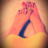my foot nail #yoooc_xoxo #ネイルブック