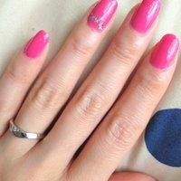 お星様キラキラ✨ シンプルに❤ #ピンク #snow_white_1018 #ネイルブック