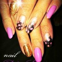 フェザーネイル♥ #ピンク #IRIENAIL_NO1 #ネイルブック