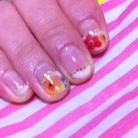 お花アート初挑戦! #akkii_8 #ネイルブック
