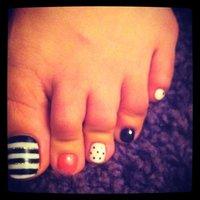 黒、ピンク、白! #SaNIANGE_TiaRa #ネイルブック
