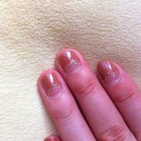 Simple nail #ka0ringo #ネイルブック