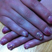 ピンクのラメグラ #chaki0208 #ネイルブック
