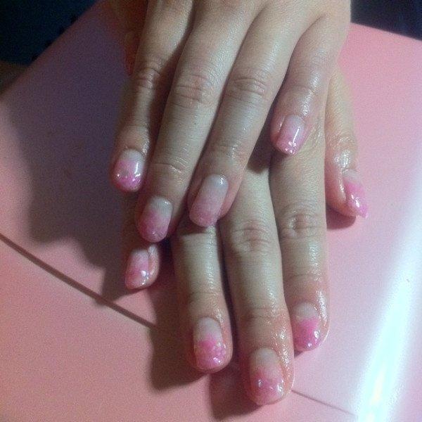 Pink shell nail #raggalily #ネイルブック