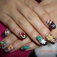 去年のごてごてネイル。 #Oshima Maiko #ネイルブック