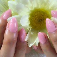 春ネイル♪ピンクのワンカラー #春 #オールシーズン #卒業式 #ハンド #シンプル #ミディアム #ピンク #パステル #ジェル #お客様 #tarrnail #ネイルブック