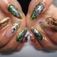 ジェルネイルやり放題‼︎5000円‼︎ #lovejewelry nail #ネイルブック