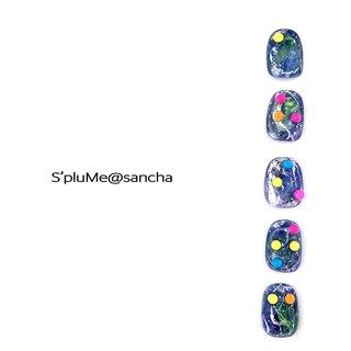 点字ネイル ありがとー 宇宙 地球 tenbo エスプルーム S'pluMe 亀ヶ谷美羽 #夏 #海 #リゾート #パーティー #ハンド #エスニック #タイダイ #ドット #マーブル #ギャラクシー #ミディアム #グリーン #ブルー #ネオンカラー #ジェル #ネイルチップ #亀ヶ谷美羽 Miwa.Kamegaya #ネイルブック
