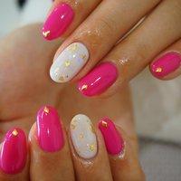 ピンク‼︎ #ハンド #ワンカラー #ミディアム #ピンク #お客様 #NAIL.XII #ネイルブック