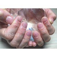 ⋈ ワンカラーネイル ⋈ #ハンド #シンプル #ショート #ピンク #ジェル #お客様 #S'NaiL #ネイルブック