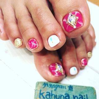 大理石♡ #kahuna Nail #ネイルブック