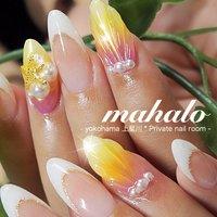 #mahalo #ネイルブック