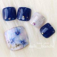 フットサンプル(^^) #ネイルアート #ネイルデザイン #ジェルネイル #ネイルサロン #nail #nails #nailart #nailswag #nailswag #nails #nail #footnail #newnail #gelnail #nailart #pinknail #ネイルサロン #ネイルアート #ネイル #ネイルデザイン#恵那市ネイルサロン #シンプルネイル #大人ネイル #大人かわいい #beauty #cute #nailartclub#自宅ネイルサロン#中津川市ネイルサロン#瑞浪市ネイルサロン#nailbook#夏ネイル#ネイルブック#フットネイル #夏 #海 #リゾート #浴衣 #フット #ラメ #ビジュー #フラワー #タイダイ #たらしこみ #ショート #ピンク #ネイビー #カラフル #ジェル #ネイルチップ #nails___blanche / yuka #ネイルブック