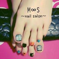 #M∞S〜nail salon〜 #ネイルブック