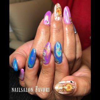自爪ロングなお客様💅🏻✨ 今回のデザインは先日向日葵のsample作った中から、選んで頂きました😊 そして、きになっていたユニコーンを ピンク×ブルーの安定な派手かわに仕上がりました🌟 ありがとうございました❤️ #nails #nail #nailsalon #nailstagram #nailart #gelnail #summernails #naildesigns #ユニコーンネイル #ユニコーンパウダー #ブルー #ピンク #原色カラー #向日葵ネイル #ヒマワリ #ヒマワリネイル #アラビアンシリーズ #自爪ロング #自爪ネイル #自爪 #ココイスト #ハードジェル  #アスリート #アスリートネイル #アスリートネイルトレーナー #ネイルケア #写ネイル #写ネイルpro #ボーダー #夏 #海 #浴衣 #ハンド #ワンカラー #ストライプ #ユニコーン #ロング #クリア #ピンク #ブルー #ジェル #お客様 #Private nail salon Favori #ネイルブック