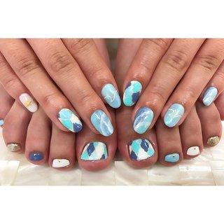 ハンドとフットお揃いで可愛い💕ハンドとフット同時施術可能です🌞  フォローして頂き、#beautyline &タグ付けをつけて投稿して頂けたら次回500円OFF♡ ※お一人様一回に限ります♡  #beautyline#topline#fujisawa#nail#nails#nailart#nailstagram#nailsalon#paragel#sculpture#gelnail#nailist#beauty#cute#ビューティーライン#ビューティーライン藤沢#湘南ネイル#藤沢ネイル#藤沢ネイルサロン#パラジェル#paraジェル#サマーネイル#ネイル#お客様ネイル#天然石ネイル#ターコイズネイル#夏ネイル#ペイントアート #夏 #梅雨 #海 #浴衣 #ハンド #ワンカラー #シェル #ジオメトリック #タイダイ #大理石 #ミディアム #ホワイト #ターコイズ #水色 #ブルー #お客様 #blfujisawa #ネイルブック
