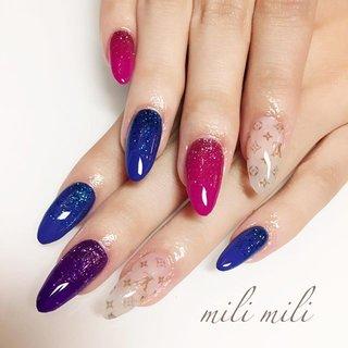 . 2時間近くかけて遠くからお越しくださりました(_ _*)💕 ありがとうございました♡ #nail#nails#nailart#instanails#nailstagram#onecolornail#colorfulnails#gradationnails#vitton#luisvuitton#ネイル#ワンカラーネイル#シンプルネイル#カラフルネイル#グラデーションネイル#派手ネイル#VUITTONネイル#ヴィトン風#大人ネイル#大人可愛いネイル#鹿児島#鹿屋#都城#志布志#志布志ネイル#志布志脱毛#milimili #オールシーズン #旅行 #リゾート #パーティー #ハンド #ラメ #ワンカラー #グラデーション #シースルー #ブランド柄 #ロング #ピンク #ブルー #パープル #ジェル #お客様 #milimili #ネイルブック