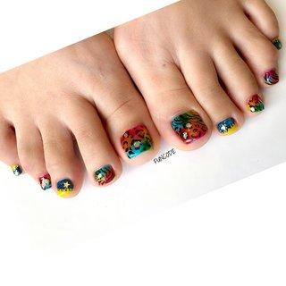 #nail#japanesenailart#naildesigns#gelnails#zebranails#animalnails#leopardnails#leopardfoot#colorfulnails#footnails#nail_funcode#ネイル#ジェルネイル#滋賀ネイル#大津市ネイル#瀬田ネイル#石山ネイル#手描きアート#手描き#カジュアルネイル#個性派ネイル#オシャレネイル#美甲#フットネイル#レオパードネイル#ゼブラネイル#レオパードフット#派手ネイル#カラフルネイル#カラフルフット #オールシーズン #ライブ #パーティー #フット #アニマル柄 #タイダイ #レオパード #カラフル #ジェル #お客様 #𝚗𝚊𝚒𝚕 𝚋𝚊𝚜𝚎 𝙵𝚄𝙽𝙲𝙾𝙳𝙴 #ネイルブック