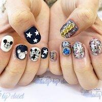 シールを持ってきて頂きました🐭💓とってもかわいい😍ありがとうございました💕 ️ #ladybycloset #nail #nails #nailart #nailstagram #instanail #かわいい #冬 #冬ネイル #winternails #冬ネイルデザイン #原宿 #原宿ネイル #ネイル #ネイルデザイン #美爪 #美甲 #明治神宮前 #ネイルアート #gel #gelnail #ジェル #ジェルネイル #ネイルパーツ #キラキラ #glitternails #ラメネイル #ちぐはぐネイル #アシンメトリー #ミッキーネイル #オールシーズン #ライブ #パーティー #デート #ハンド #ラメ #キャラクター #チェーン #デコ #ショート #ホワイト #ネイビー #パープル #ジェル #お客様 #ladybycloset #ネイルブック