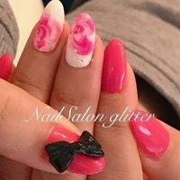 ♡ . .  これは!!! もしや!!! あの!! 私の描けなかった、とろけるローズ🎉  あんまり近くで見たらダメなやつ!🙅♀️とか言いながら、書きました^ ^  しかし、、これ、可愛いっ♥️ #ネイルサロン #プライベートサロン #nailstagram  #nail  #acrylicnails  #nails  #nailart  #cute  #sexy  #かわいい  #大人ネイル  #レース  #アート  #大好き  #いいね  #楽しい  #三重県  #いなべ市  #菰野 #四日市 #桑名 #鈴鹿 #愛西市 #弥富 #この際  #naildesign  #naildaily #NailSalon_glitter #ネイルブック
