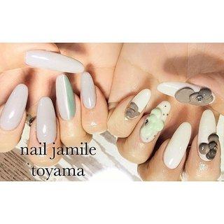 spring asymmetry🌷 春の装いには優しいカラーでの エンボスフラワーをのせて🤭🌼 おしゃれは足元から。。と言いますが女性は手元から!も絶対です❤️ * * ご予約はこちらから👇 ☎️080-6359-0209  LINE🆔@jamile * * #ネイル#ジェルネイル#フィルイン#一層残しフィルイン #nail#nails#footgel#fashion#ootd#gelnail#gelnail#nailart#like4like#followme#instanail#art#gel#instagood#nailjamlle#jamile#ジャミール#ネイルジャミール#followmefollowyou #vetro#vetro_tokyo#富山市#ネイルサロン#富山市ネイルサロン#富山ネイルサロン#富山市ネイルジャミール #春 #入学式 #オフィス #デート #ハンド #フラワー #3D #ブロック #マット #スーパーロング #ホワイト #グリーン #グレー #ジェル #お客様 #JAMILE #ネイルブック
