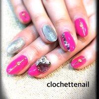 Ace gel by Barbie &3d attacker #clochettenail #ネイルブック