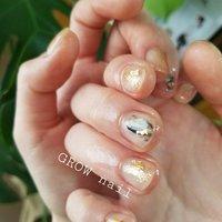 ニュアンスアート #GROW nail #ネイルブック