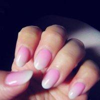 逆グラデーション!桜を連想させる雰囲気にしていただきました! #春 #ハンド #グラデーション #ミディアム #ピンク #ジェル #HONAMI #ネイルブック