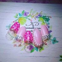 お花のレースが上品な春らしいデザインです。 #春 #パーティー #デート #女子会 #ハンド #ミディアム #ピンク #ネイルチップ #karin1128 #ネイルブック