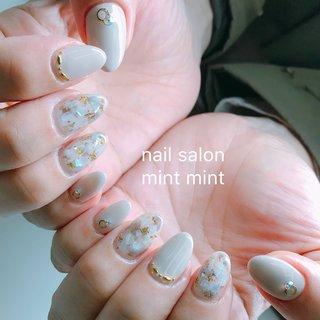 #岡山ネイル #岡山県 #岡山ネイルサロン#nails #nail #footnail #ネイルnewnail #gelnail #nailart #ネイルサロン #アート #ネイル #ネイルデザイン#岡山ネイルサロン #シンプルネイル #大人ネイル #大人かわいい #beauty #cute #オールシーズン #オフィス #デート #女子会 #ハンド #シェル #大理石 #ニュアンス #ロング #ベージュ #グレージュ #ゴールド #マニキュア #お客様 #mint mint #ネイルブック