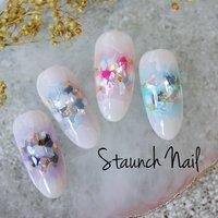 #staunch_nail #ネイルブック