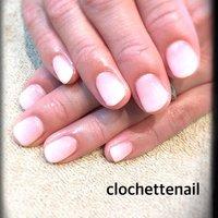 White gradation #clochettenail #ネイルブック
