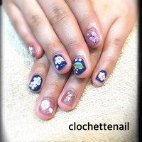 Cherry blossom #clochettenail #ネイルブック