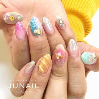 instagram→jun.ashida ホットペッパービューティー掲載中☆ #june #ネイルブック