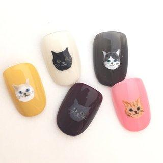 【猫ネイルイベント開催中】ローラポンポニーと言えば、オシャレな猫ネイル☆2/22~3/21期間中、猫の日お好きな猫1匹を平日¥540、休日¥756でオシャレ猫が貴女の指先に...☆猫ネイル初めての方もお試しください☆ #オールシーズン #オフィス #パーティー #デート #ハンド #キャラクター #キルティング #ギャラクシー #カモフラージュ #アイシング #ショート #ジェル #ネイルチップ #ローラポンポニー表参道 #ネイルブック