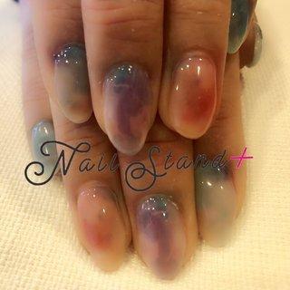 ニュアンス大理石ネイル♡爽やかなブルー系のアクアマリンや水晶、トルコ石をイメージして、指先に上品な彩りをプラス。その儚げなカラーはまるで紫陽花のようで、これからの梅雨の時期にもぴったりです。  #ニュアンスネイル #大理石 #ブルーグラデーション #アクアマリン #水晶 #ジェム #梅雨 #紫陽花 #アジサイ #美肌 #美爪 #ネイルスタンドプラス #夏 #梅雨 #七夕 #海 #ハンド #グラデーション #大理石 #ニュアンス #マーブル #ミディアム #オレンジ #ターコイズ #水色 #ジェル #お客様 #nailstandplus♡彦根 #ネイルブック